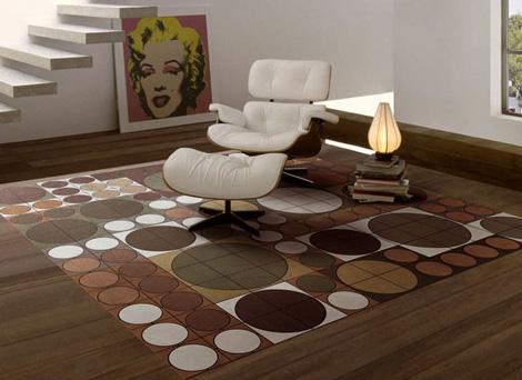 Kožni tepisi - izgledaju vrlo luksuzno