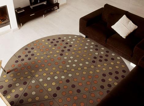 Vrlo lep izgled kožnih tepiha