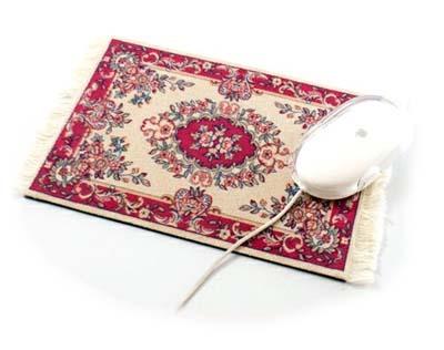 Persijski tepisi kao podloga za miša