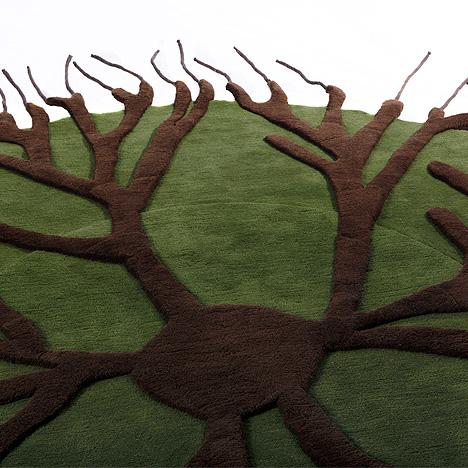 Tepisi sa korenom drveta